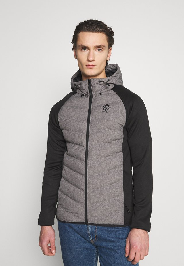 BONES TECH JACKET - Jas - grey marl
