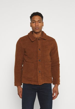 MOSTON - Summer jacket - dark tan