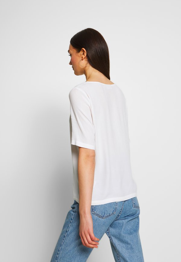 Minimum ELVIRE - Bluzka - snow white/biały AHVU