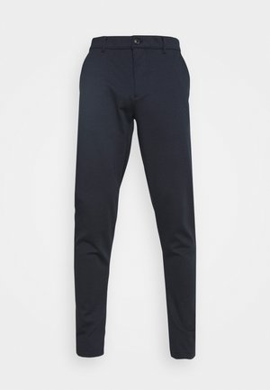 DAVE BARRO - Trousers - insignia blue