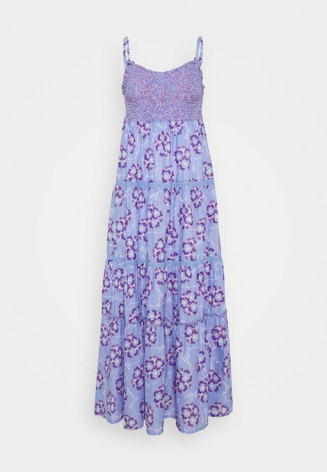 FLORAL BALI DRESS - Długa sukienka - purple