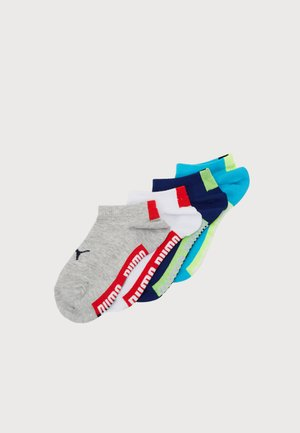 KIDS BOYS SEASONAL SNEAKER 4 PACK - Socks - white grey/white blue