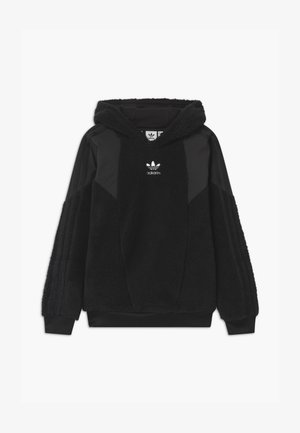 TEDDY HOODIE UNISEX - Fleece jumper - black