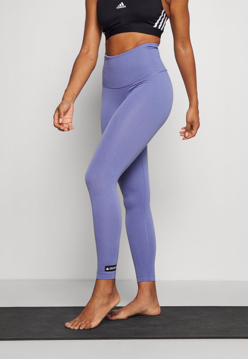 adidas Performance - SCULPT  - Leggings - orbit violet