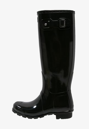 ORIGINAL TALL GLOSS VEGAN - Wellies - Wellies - black