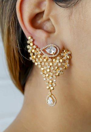 RAIPUR GOLDEN - Earrings - gold
