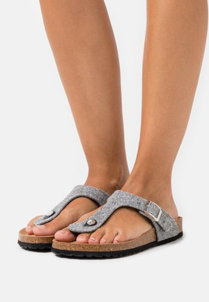 SLIDES - Slippers - grey