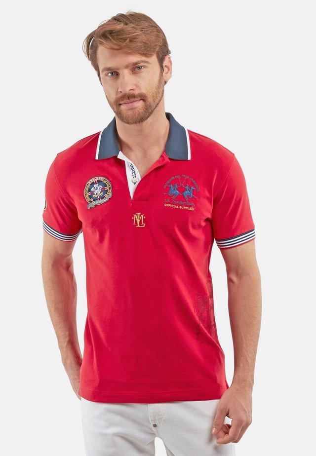 PANDURA - Koszulka polo - red