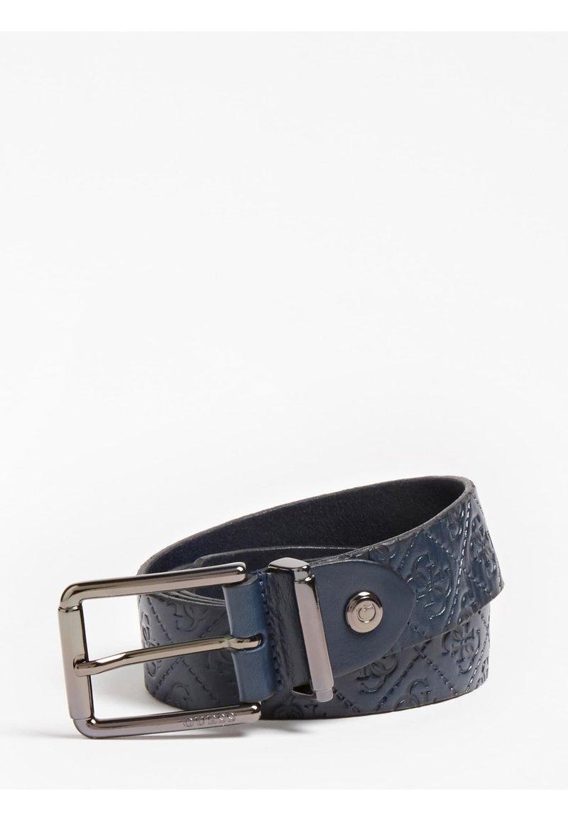 Guess - ADJUSTABLE BELT - Belt - blau