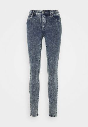 ONLRAIN ACID - Jeans Skinny Fit - dark blue denim