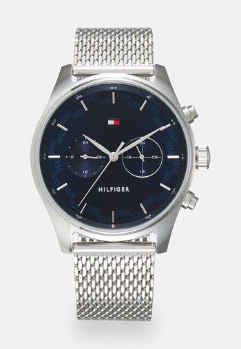 SAWYER - Watch - silver-coloured/blue