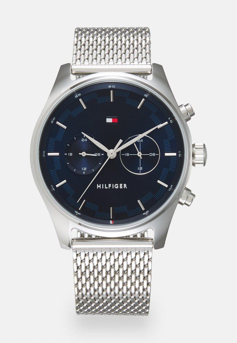 Tommy Hilfiger - SAWYER - Watch - silver-coloured/blue