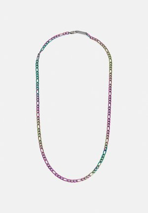 FLAT FIGARO CHAIN NECKLACE - Náhrdelník - multi-coloured
