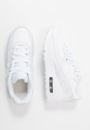 AIR MAX 90 UNISEX - Sneakers - white/metallic silver