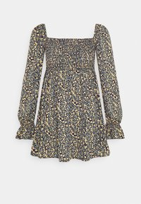 MILKMAID SHIRRED BUST MINI FLORAL - Day dress - yellow