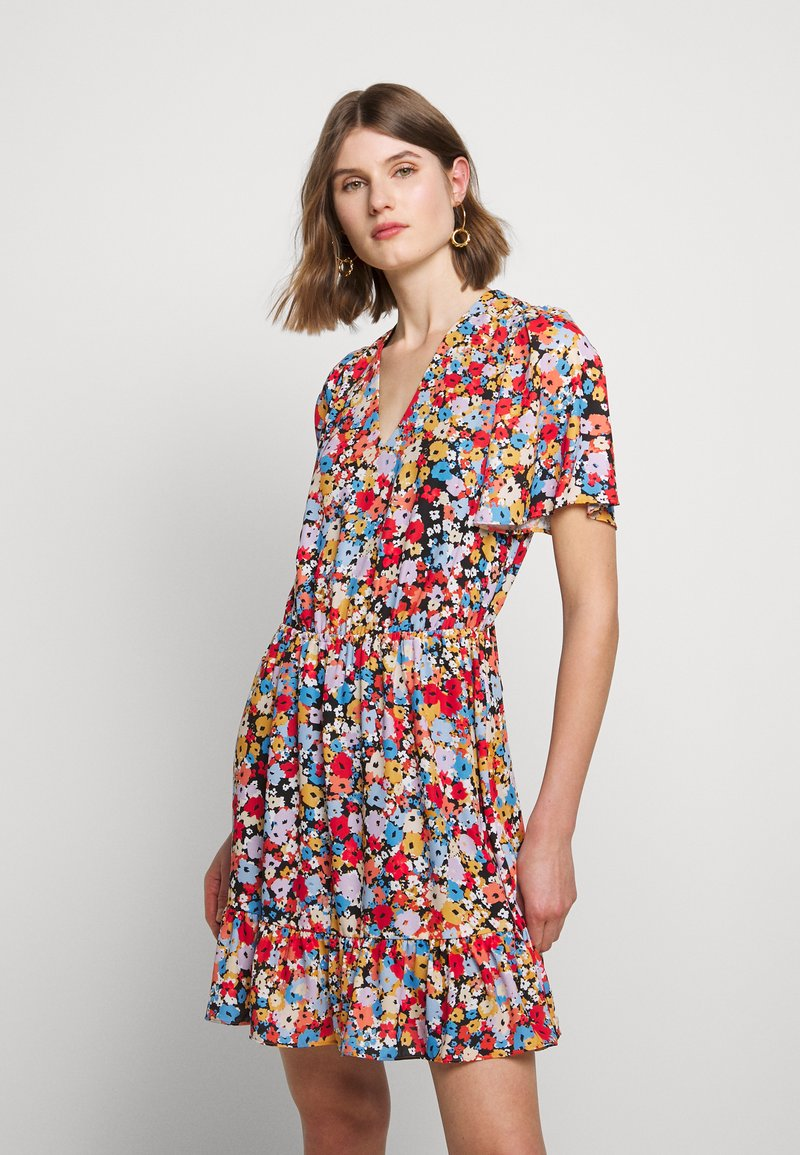 Rebecca Minkoff - SORCHA DRESS - Denní šaty - black/multi