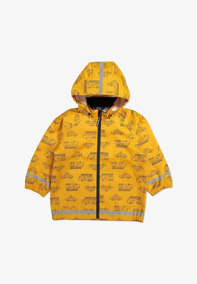 Waterproof jacket - autumn blaze