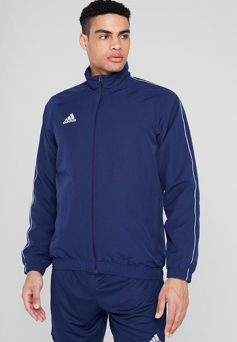 adidas Performance - CORE 18 - Training jacket - dark blue/white