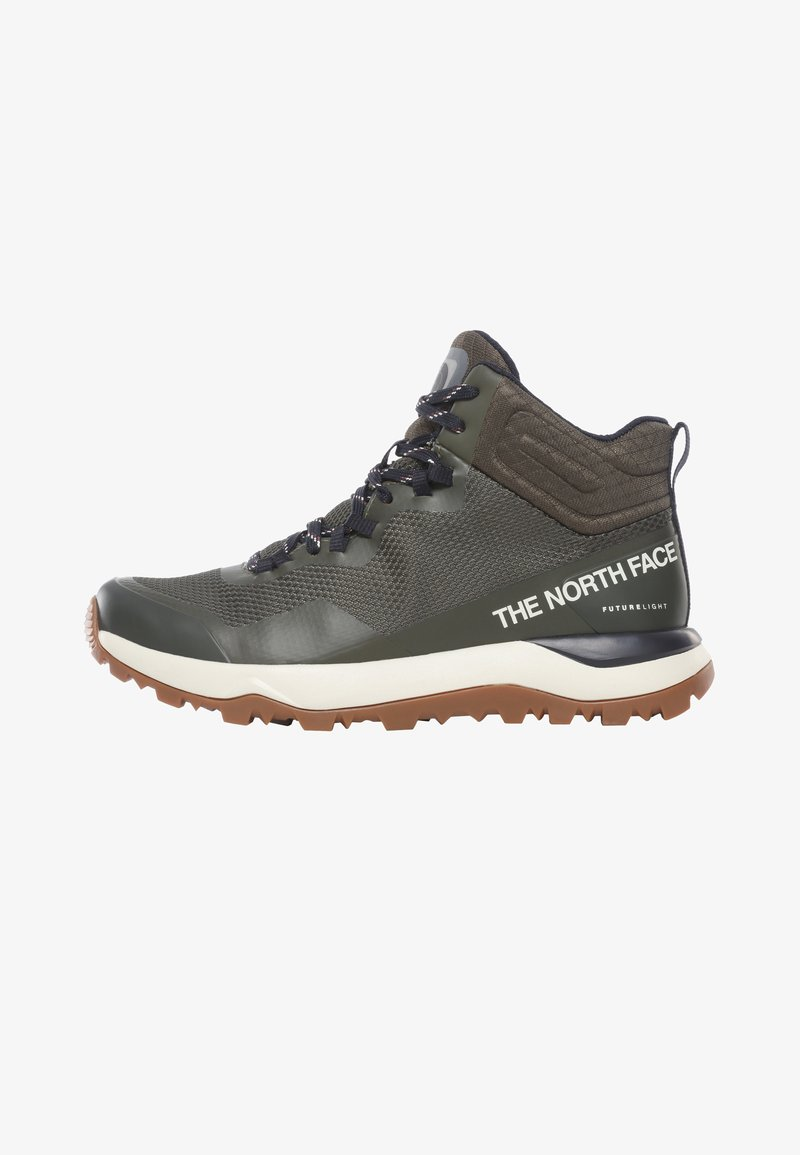 The North Face - W ACTIVIST MID FUTURELIGHT - Hiking shoes - nw taupe grn/aviator navy