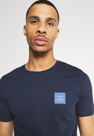 JCOJAY TEE CREW  NECK - Basic T-shirt - navy blazer