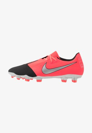 PHANTOM  ACADEMY FG - Moulded stud football boots - laser crimson/metallic silver/black