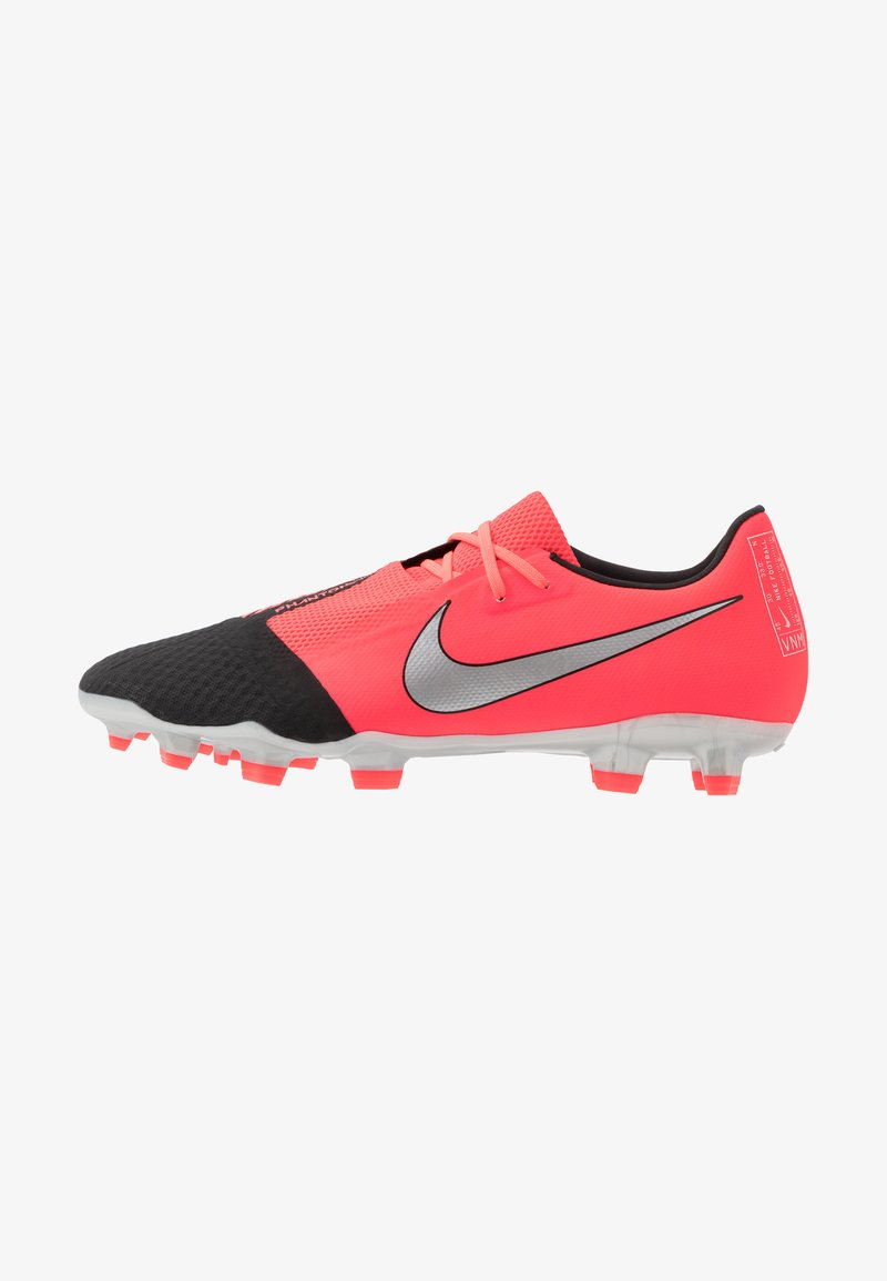 Nike Performance - PHANTOM  ACADEMY FG - Moulded stud football boots - laser crimson/metallic silver/black