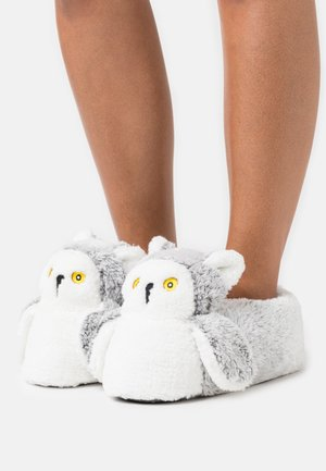 ANIMAL SLIPPERS - Slippers - grey