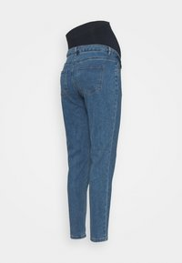 Missguided Maternity - RIOT COMFORT STRETCH - Jeans Tapered Fit - black - 1