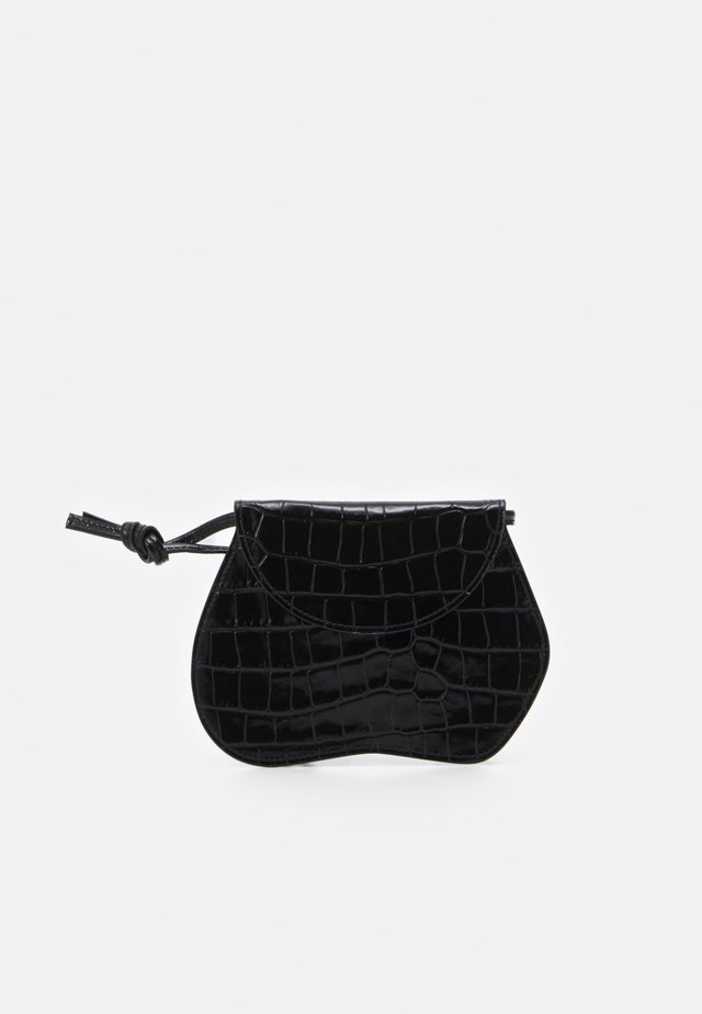 PEBBLE MICRO BAG - Olkalaukku - black