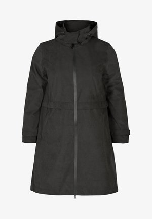 VERSTELLBARER - Waterproof jacket - black