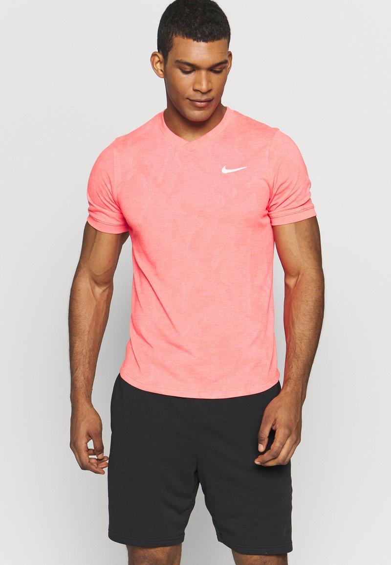 Nike Performance - DRY  - Camiseta básica - laser crimson/white
