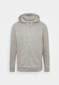 Tommy Jeans - CLASSICS ZIPTHROUGH - veste en sweat zippée - grey - 4