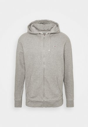 CLASSICS ZIPTHROUGH - Zip-up hoodie - grey