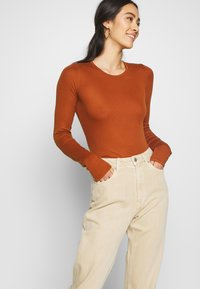Weekday - LASH - Jeans relaxed fit - light beige - 5