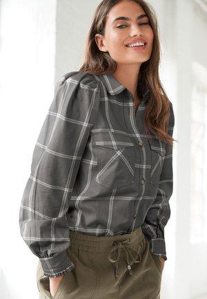 PUFF  - Button-down blouse - grey