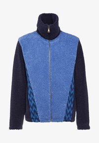 Missoni - LONG SLEEVE MOCK NECK - Cardigan - blue - 4