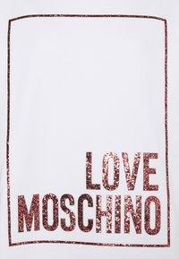 Love Moschino - Jersey dress - optical white - 9