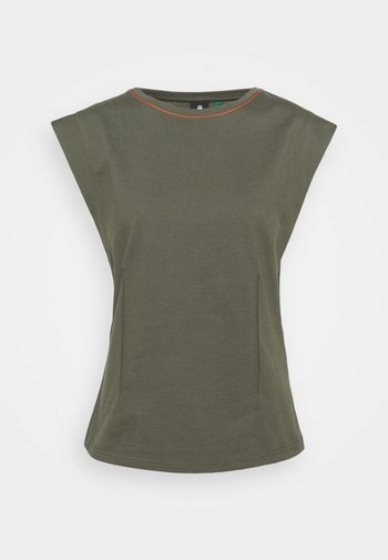 WAISTED - Print T-shirt - combat