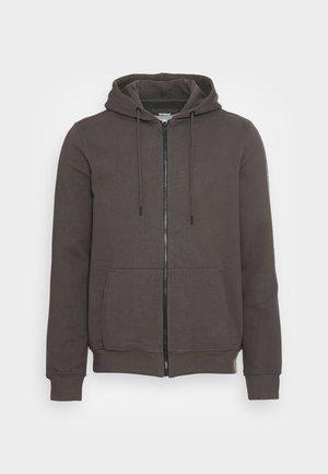 STEVALF MAN - Zip-up sweatshirt - asphalt