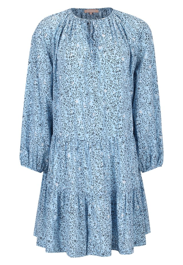 METS COTTON PRINTED - Day dress - cashmere blue print