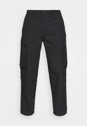 FORCE COMBAT PANT LENGTH - Cargo trousers - black