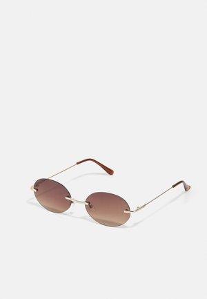 JACMIKKEL SUNGLASSES - Sluneční brýle - gold-coloured