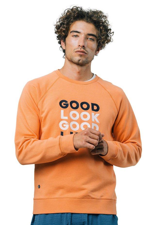 GOOD LUCK - Sweater - orange