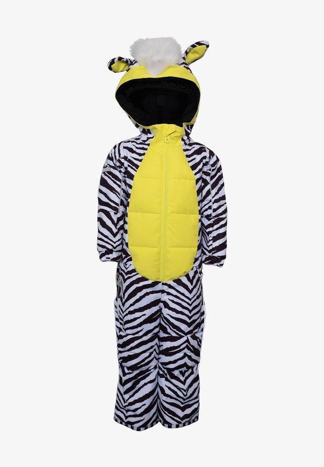 Snowsuit - zebra white