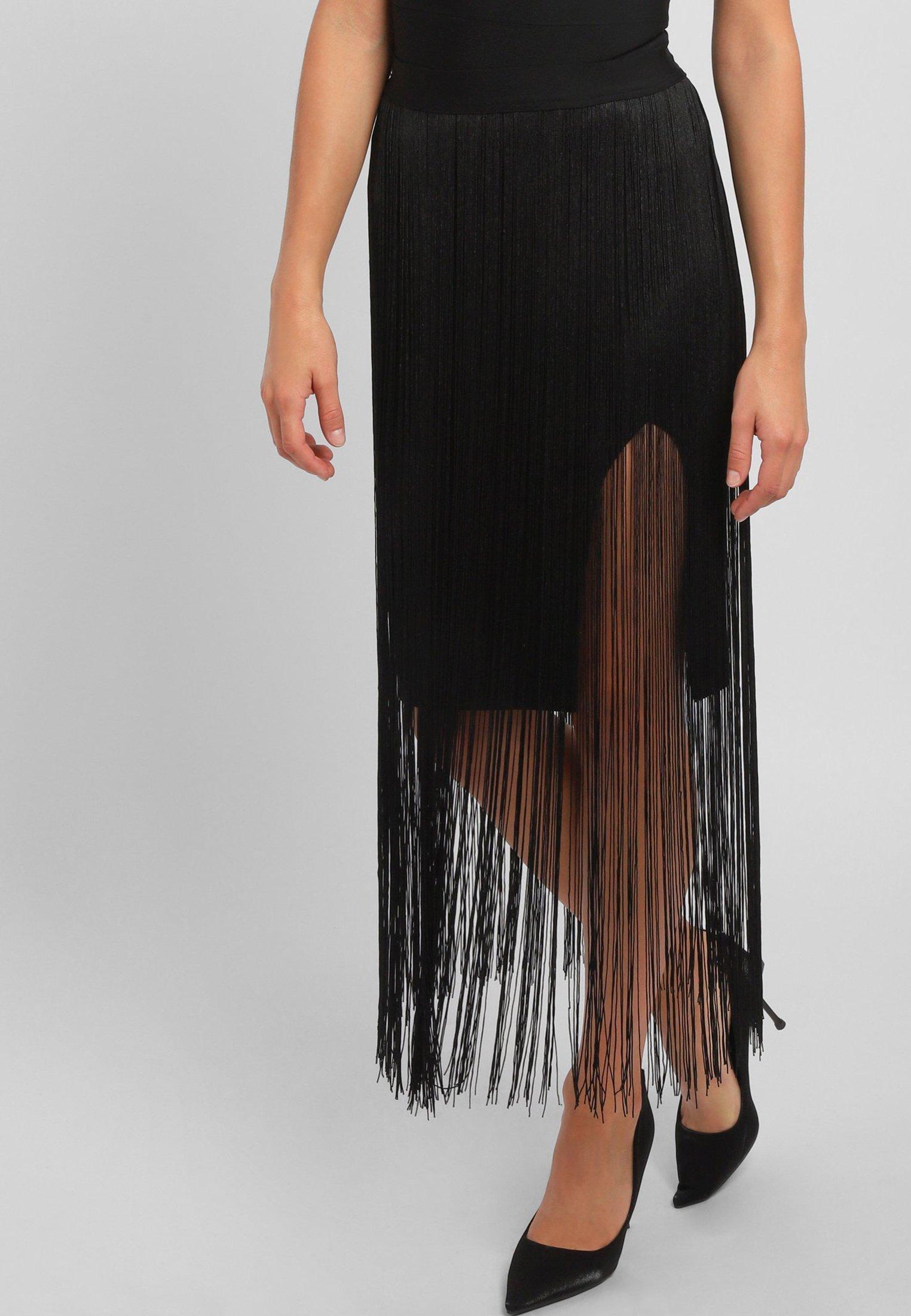 Get Online Women's Clothing Apart Maxi skirt black 47z8kAR7Q