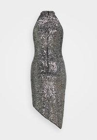 TFNC - HALONA DRESS - Cocktail dress / Party dress - black/silver - 1