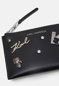KARL LAGERFELD - SEVEN PINS ZIP - Wallet - black - 3