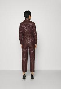 Twist & Tango - CECILIA JACKET - Faux leather jacket - reddish brown - 2
