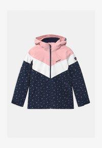 Ziener - ALJA - Kurtka snowboardowa - dark blue/light pink/white - 0