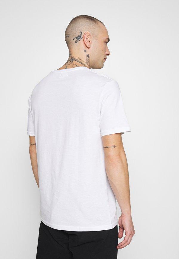YOURTURN T-shirt z nadrukiem - white/biały Odzież Męska GJVM